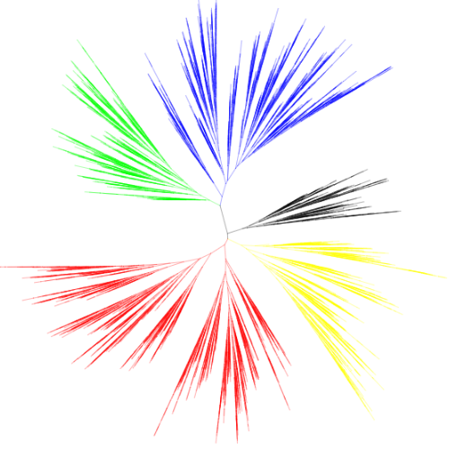 iTOL: Interactive Tree Of Life